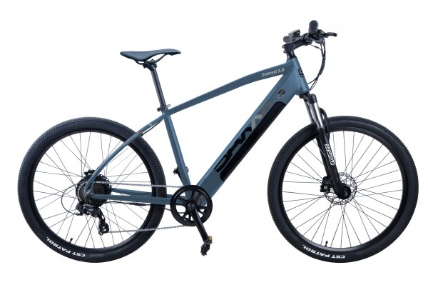 SAXXX Everest 5.0 - 27,5 Zoll E-Mountainbike, 9 Gang, Hinterradmotor