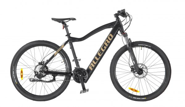 Allegro E-MTB Invisible Black Edition