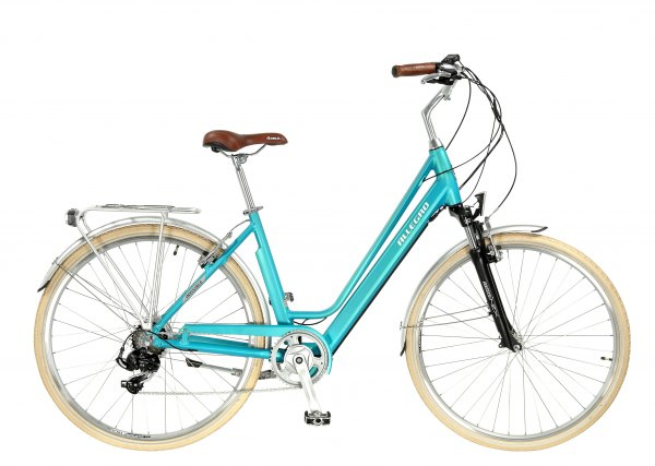 Allegro E-Bike Invisible City Light blue